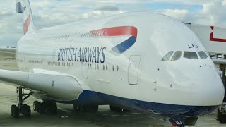 getlinkyoutube.com-British Airways A380 business class London to Vancouver (decline in service)