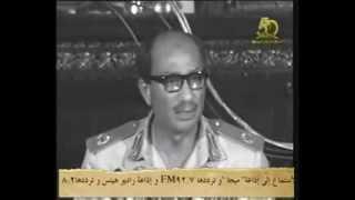 getlinkyoutube.com-نادر وحصري | الخطاب الاول للرئيس السادات بعد نصر اكتوبر 1973