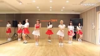 getlinkyoutube.com-[HD] AOA - Heart Attack mirrored Dance Practice