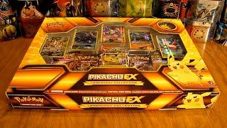 getlinkyoutube.com-Pikachu EX Legendary Collection Box Opening