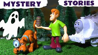 getlinkyoutube.com-Scooby Doo Spooky Stories with Thomas & Friends Toy Trains Play Doh Toys & Halloween Hot Wheels TT4U