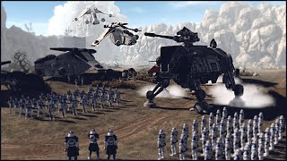 CLONE FORCES DEPLOY ON BALMORRA - Star Wars: Galaxy at War Mod Gameplay
