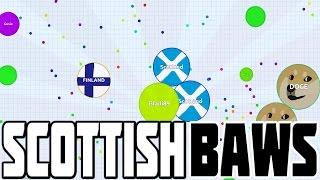 getlinkyoutube.com-SCOTLAND THE BAWS! - Agario Funny Gameplay (Agar.io Addictive Game)
