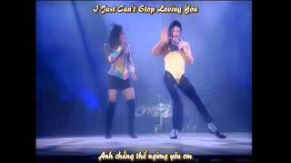 [Vietsub-Lyrics] Michael Jackson I Just Can't Stop Loving You-Live Bucharest Dangerous Tour 1992