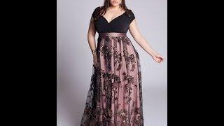 getlinkyoutube.com-Vestidos de fiesta para gorditas