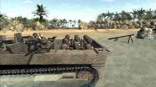 Beach Landing Pacific - Men of War Cinematic (part 1 of 4)