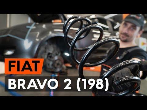 Как заменить переднюю пружину стойки амортизатора наFIAT BRAVO 2 (198) (ВИДЕОУРОК AUTODOC)