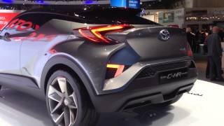 getlinkyoutube.com-Toyota C-HR Concept - compact hybrid crossower