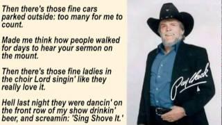 Johnny Paycheck - The Outlaw's Prayer with Lyrics