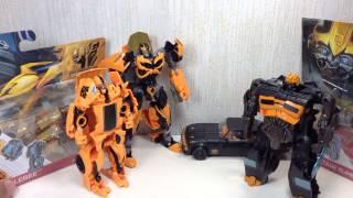 getlinkyoutube.com-1 Step Bumblebee & High Octane Bumblebee Transformers 4 Toy Review