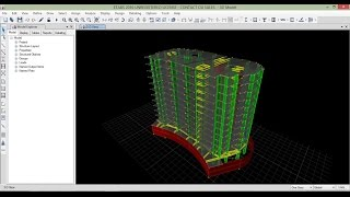 getlinkyoutube.com-Session 3 ( Modeling of 14 story High-rise Building On ETABS 2016)