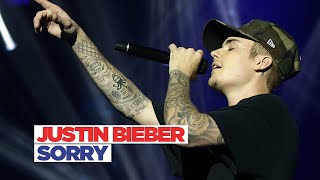 getlinkyoutube.com-Justin Bieber - 'Sorry' (Jingle Bell Ball 2015)