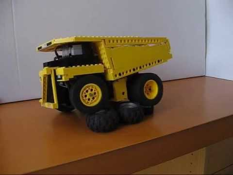 Lego Caterpillar 797B working model