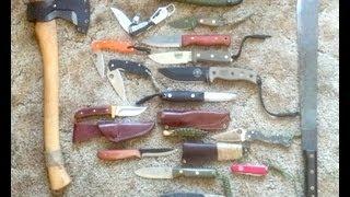 getlinkyoutube.com-Choosing a Bushcraft Knife - Mora, Condor, Esee, Gerber, Skookum, BHK, BCNW, Victorinox, Leatherman