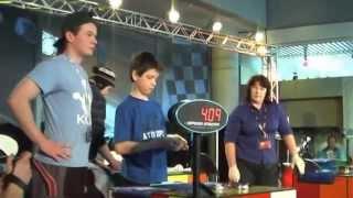 getlinkyoutube.com-Feliks Zemdegs - First competition - July 2009 NZ