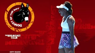 getlinkyoutube.com-Doug Adler's Has Poor Choice Of Words When Commenting on Venus Williams - Donkey of the Day