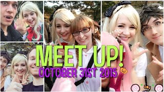 getlinkyoutube.com-Meeting You Guys! With Einshine & Nyansai // Oct. 31 2015 Yoyogi Park