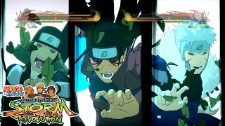 getlinkyoutube.com-Naruto Shippuden Ultimate Ninja Storm REVOLUTION Team Ultimate Jutsu - Reanimated Hokages Gameplay!