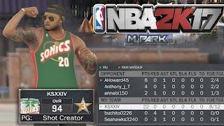 getlinkyoutube.com-NBA 2K17 MyPARK - 21 POINT CHALLENGE!! DROPPED 22 POINTS! LEO ENDED HIS PARK CAREER!!