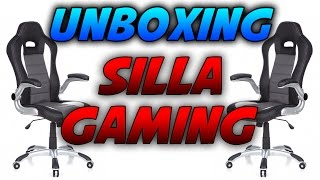 getlinkyoutube.com-NUEVO UNBOXING SILLA GAMING! |  SILLA GAMING BARATA | HJH Office 621710 | BraxXter