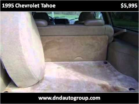 1995 Chevrolet Tahoe Problems Online Manuals And Repair