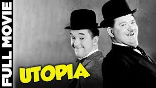 Utopia (1951) | Stan Laurel, Oliver Hardy, Suzy Delair | Laurel and Hardy full movies