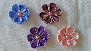getlinkyoutube.com-Florzinha de cetim || DIY-PAP