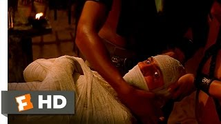 The Mummy (2/10) Movie CLIP - Imhotep Is Mummified Alive (1999) HD width=