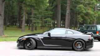 getlinkyoutube.com-Nissan GT-R with HKS Exhaust Startup and Acceleration