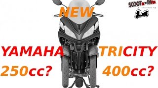 getlinkyoutube.com-2016 YAMAHA TRICITY 250/400 after success of 125cc?