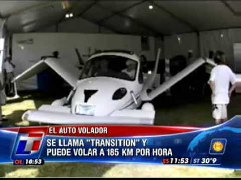 Auto volador - Flying car : Transition