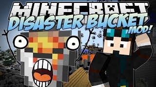 getlinkyoutube.com-Minecraft | DISASTER BUCKET MOD! (The Most Destructive Bucket EVER!) | Mod Showcase