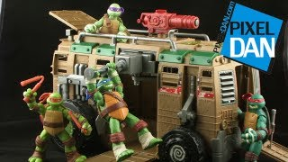getlinkyoutube.com-Nickelodeon Teenage Mutant Ninja Turtles Shellraiser Vehicle Review