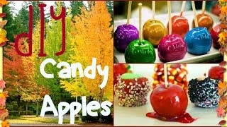 getlinkyoutube.com-DIY Candy Apples: Easy!