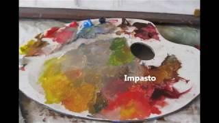 getlinkyoutube.com-Alla Prima Oil Painting demo -Still life-Stilleben
