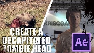 getlinkyoutube.com-CREATE A DECAPITATED ZOMBIE HEAD IN AFTER EFFECTS ! - MarchingDead