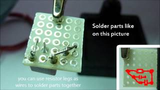 Building a wireless energy transfer circuit step-by-step