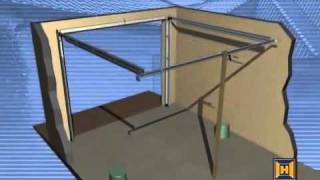 getlinkyoutube.com-Instalación Puerta de Garaje Seccional | Puertas ESMA | Distribuidor Oficial Hormann