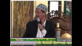 KH. Agoes Ali Masyhuri - Haul ke-46 PPMUS Sarang