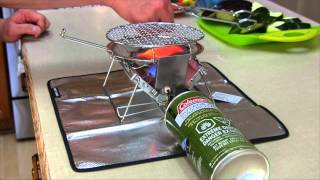 getlinkyoutube.com-Grilling Veggies on a Soto G-Stove