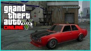 "getlinkyoutube.com-GTA 5 Online ""Vulcar Warrener"" Car Customization Showcase - Hipster DLC DRIFTING CAR"