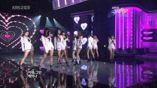 getlinkyoutube.com-HD SNSD - Tell Me Your Wish (Genie) Rock Tronic Remix ver Jan01.2010 2/2 GIRLS' GENERATION Live 720p