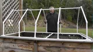 getlinkyoutube.com-Build A Mini Greenhouse For Raised Beds