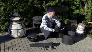 getlinkyoutube.com-Печь для казана, с дымоходом, очаг обзор от сайта www.picnik.by.