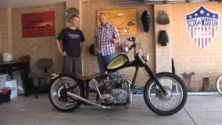 getlinkyoutube.com-Triumph Chopper and Vintage Motorcycles