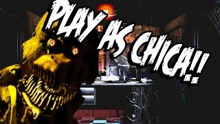 getlinkyoutube.com-Fazbears Simulator: Part 1 - PLAY AS CHICA AND ALL ANIMATRONICS!