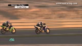 getlinkyoutube.com-Round 6 Qatar - Underbone 115cc Race 1 (full) - PETRONAS Asia Road Racing Championship