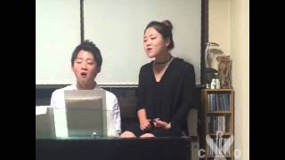 getlinkyoutube.com-When I was your man (cover by Japanese brother and sister)