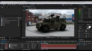 getlinkyoutube.com-How to animate car in After effects cc - Element 3D