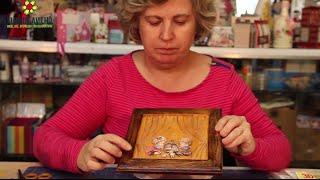 getlinkyoutube.com-Video Aula - Decoupage 3D Natal